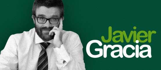 Javier Gracia, esta tarde, en los Supermartes de El Hueco