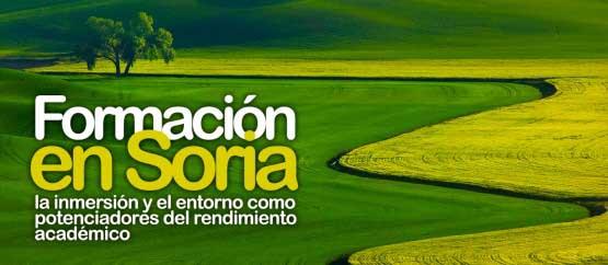 La charla sobre 'Formación en Soria' se aplaza hasta el miércoles 18