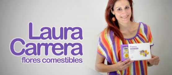 Laura Carrera y sus exitosas flores comestibles, hoy lunes en la programación de El Hueco