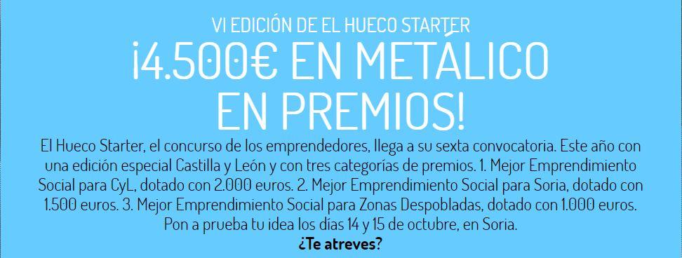 La ADE de Castilla y León se suma al patrocinio de nuestro concurso de emprendedores, El Hueco Starter