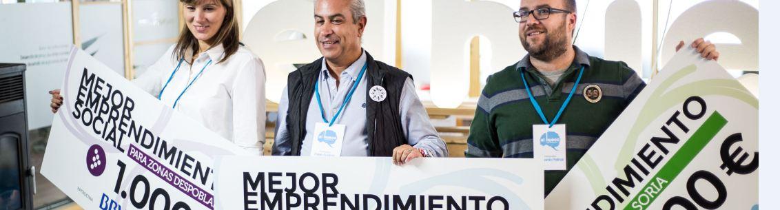 Cooperativa Entrevecinos, Reciclaje de Plástico y Apadrina un Olivo ganan los premios de El Hueco Starter