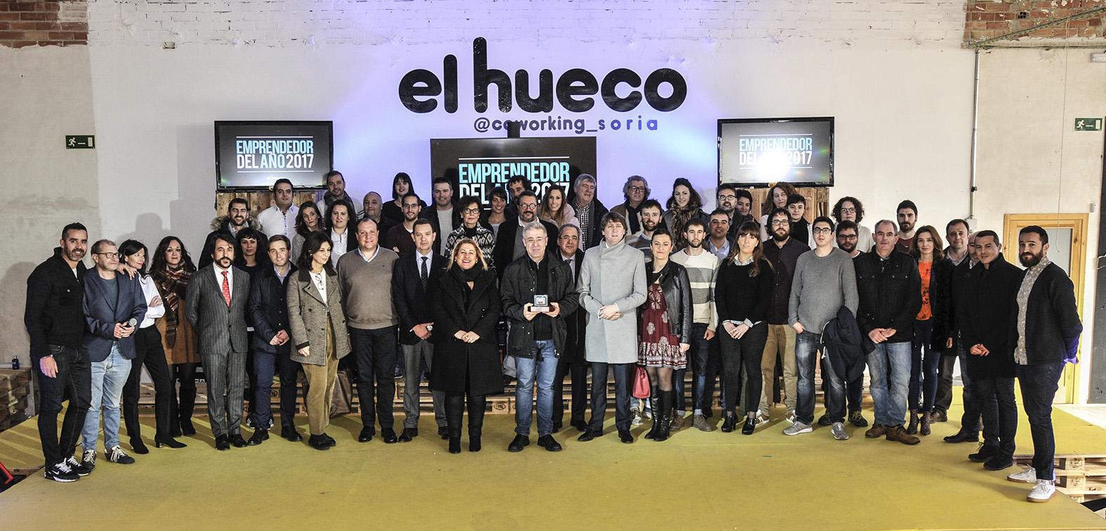 Juan Pérez Lozano, de Ciaqua, Emprendedor del Año 2017