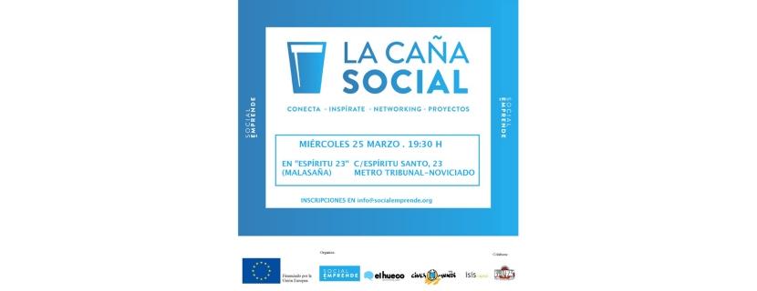 Los emprendedores sociales de El Hueco acuden a La Caña Social en Madrid