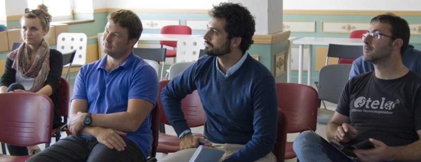 El Hueco recibe a tres emprendedores europeos que visitan Soria con el programa 'This Works', de Ashoka