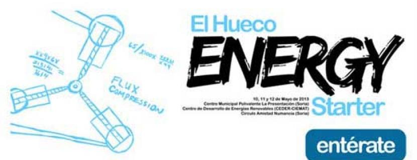 Sigue en Twitter la primera jornada de El Hueco Energy Starter: 17 emprendedores, trece ideas a concurso