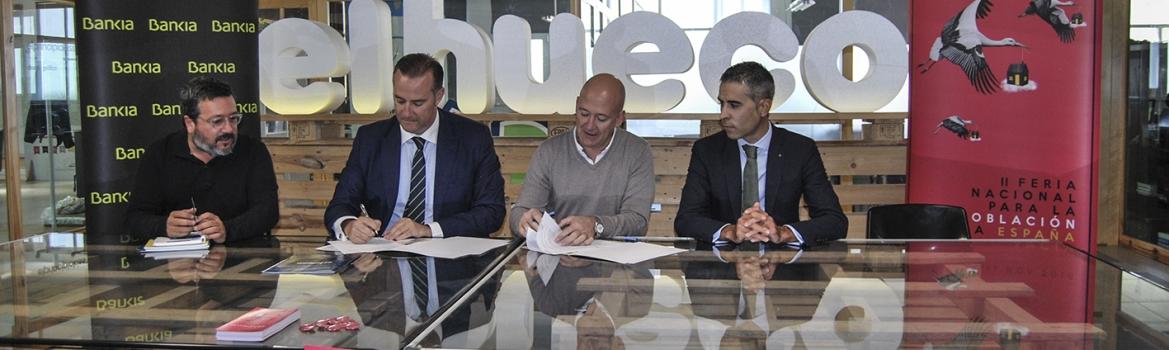 Bankia apoya El Hueco Starter y la feria Presura