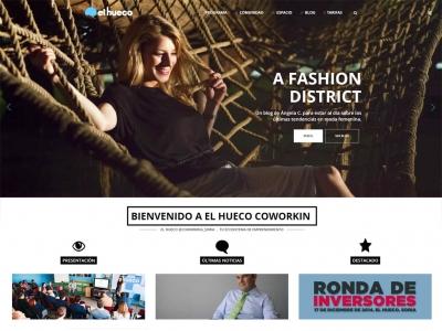 Desarrollo web www.elhueco.org