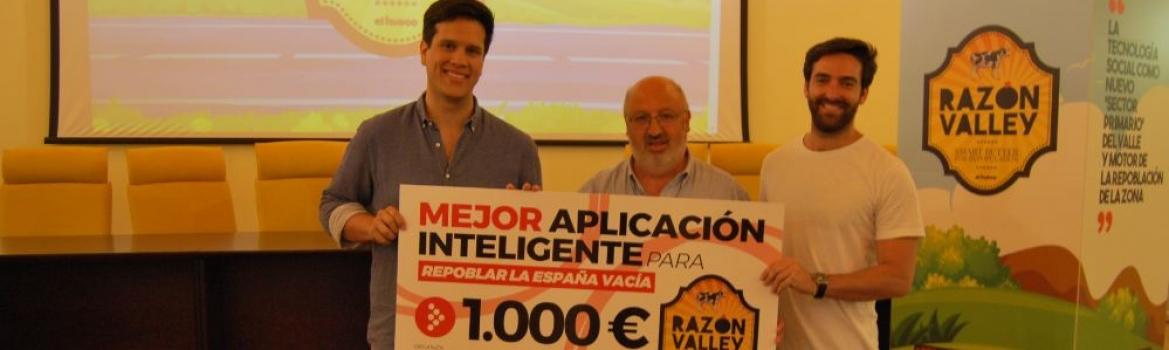Una aplicación de hoteles pop-up gana el concurso Apps Inteligentes para la Repoblación del proyecto Razón Valley