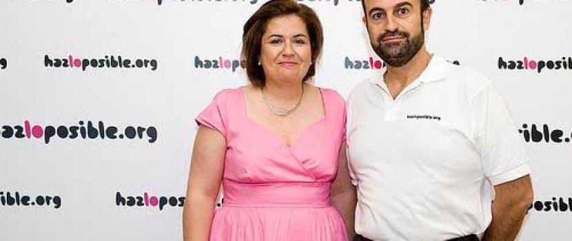 Emprendedores, filántropos, inversores… Catalina Parra y José Martín Cabiedes, una visita de lujo en El Hueco