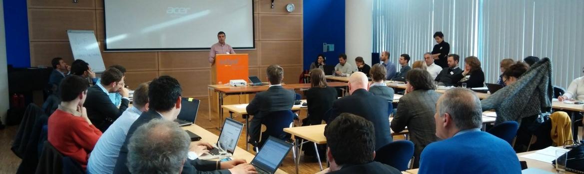 El modelo de El Hueco se presenta en Frankfurt ante expertos en emprendimiento social de toda europa