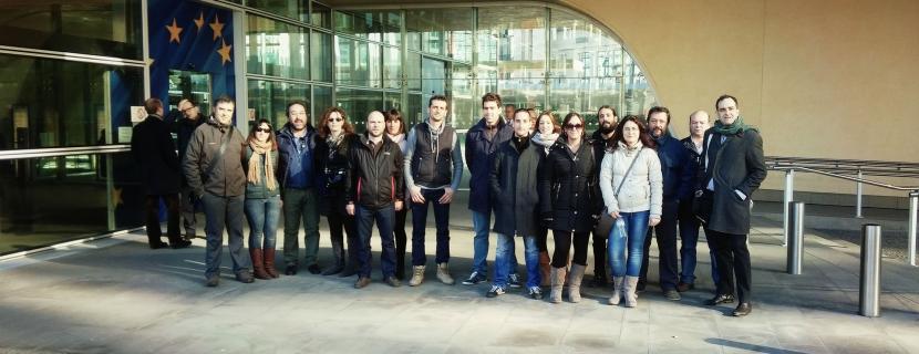 El Hueco inaugura su antena en Bruselas