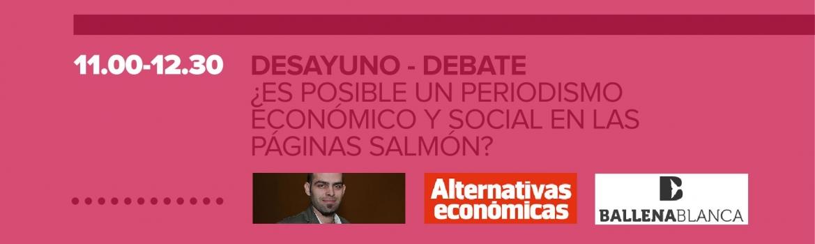 Periodismo económico y agricultura ecológica, hoy en la Feria de Economía Social