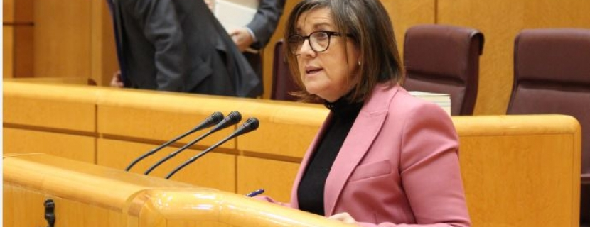 La senadora Angulo pone a El Hueco como ejemplo de economía social en España