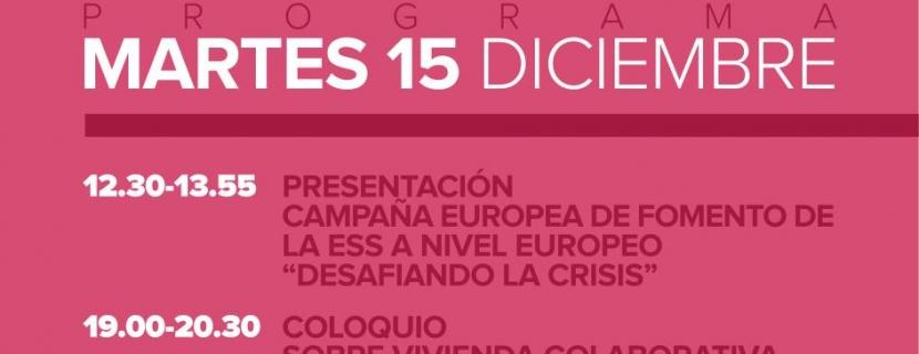 La campaña 'Desafiando la crisis' y la vivienda colaborativa abren hoy la Feria de la Economía Social y Solidaria de El Hueco